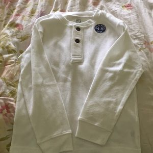Other - White thermal shirt